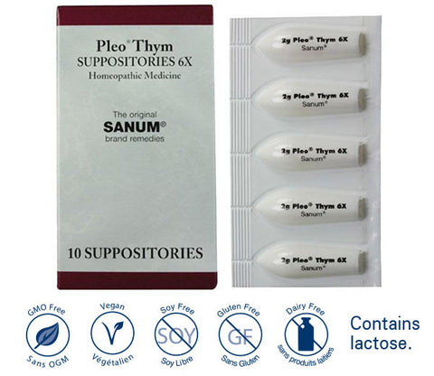 Pleo-THYM (Thymokehl) suppositories 6X (10)