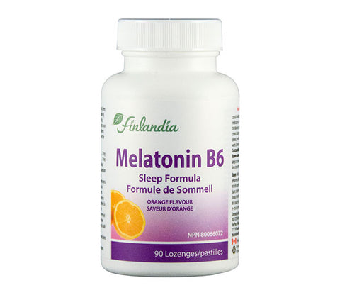 Finlandia Melatonin B6 90 Lozenges
