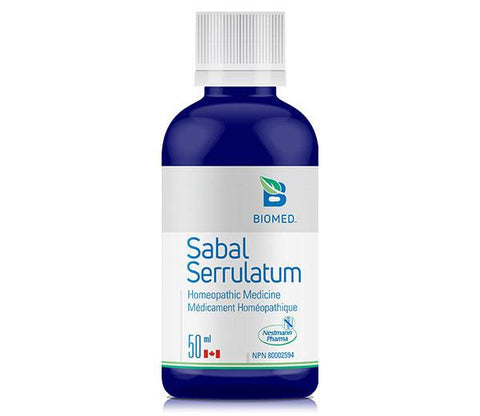 Sabal Serrulatum 50 ml - Prostate, Bladder, Ovarion and Libido Support