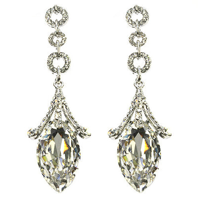 BROOK-LYNN CRYSTAL DROP EARRING