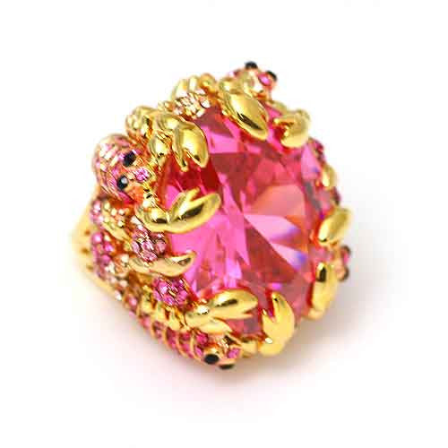 LOLLIPOP PINK RING