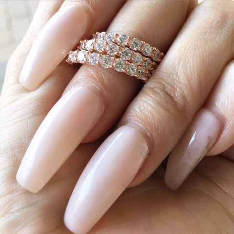 SET ROSEGOLD WISH RING