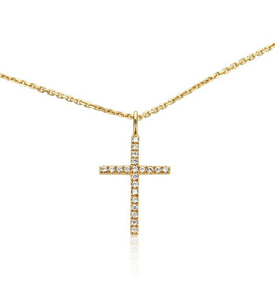ANDREA  CROSS NECKLACE ELITE MINI SV