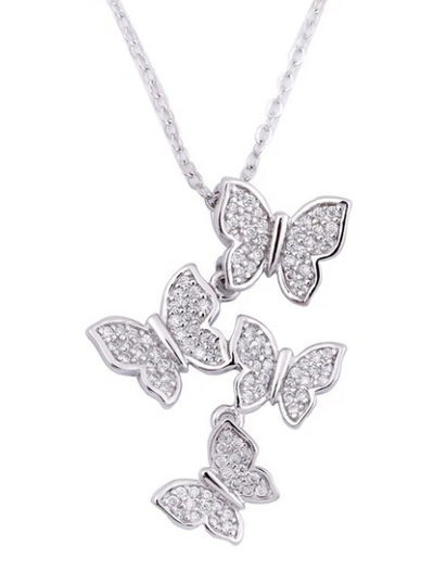 KYKY  BUTTERFLY NECKLACE