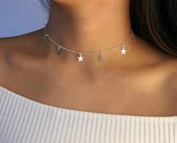 MULTI STAR NECKLACE