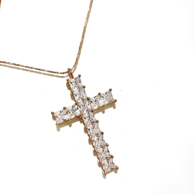 JACKILYN CROSS NECKLACE