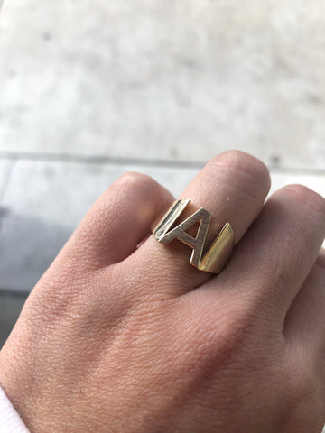 """SINGLE CAGE"" RING"