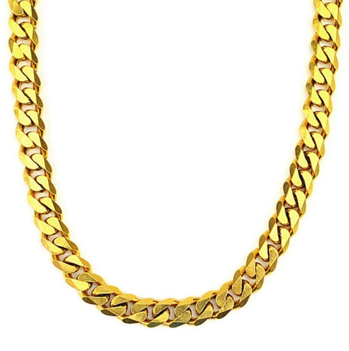 CUBAN FLAT DADDY AM GOLD-CHAIN