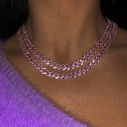 ROSE LALA PINK CHAIN