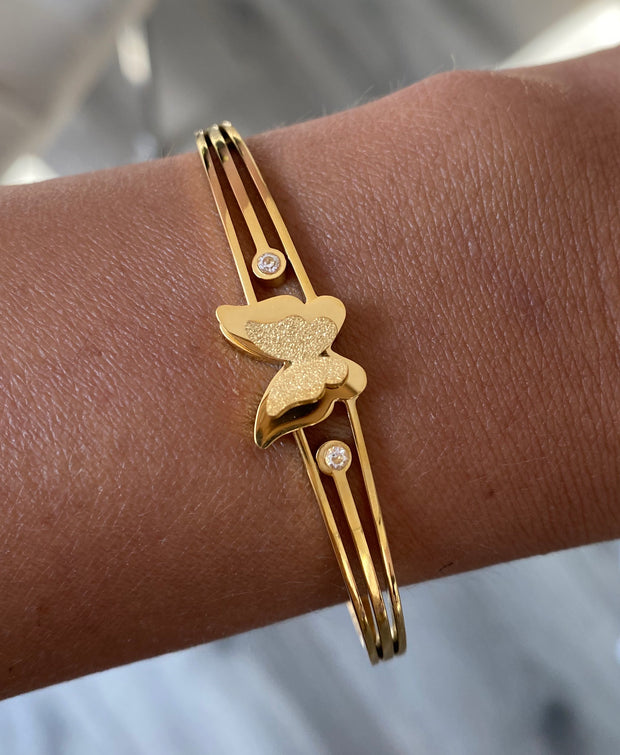 MEL BUTTERFLY BANGLE