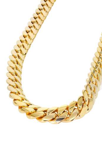 CUBAN AM GOLD-CHAIN