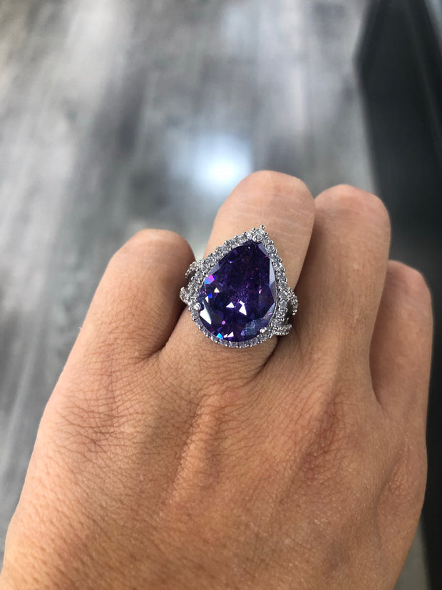 BLUE SUNSET RING