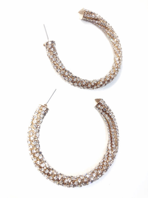 MICRO SPARKLE HOOPS