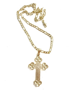 BROOK LYNN CROSS SV NECKLACE