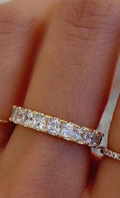 SQUARE ETERNITY BAND