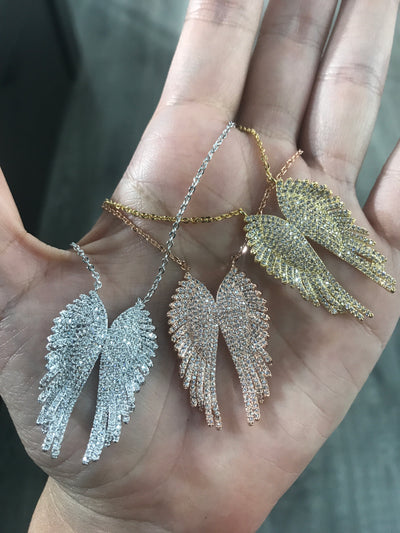 ANGELITO ALITAS SV NECKLACE