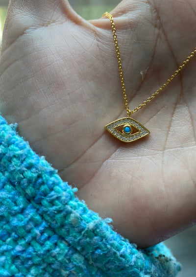 BABY EYE NECKLACE