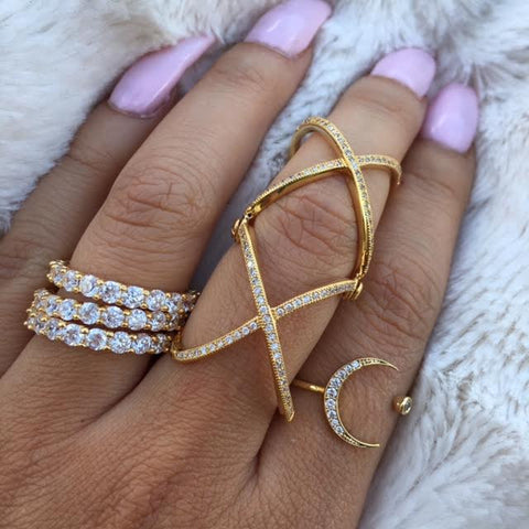 SET JILLY MAMI RINGS