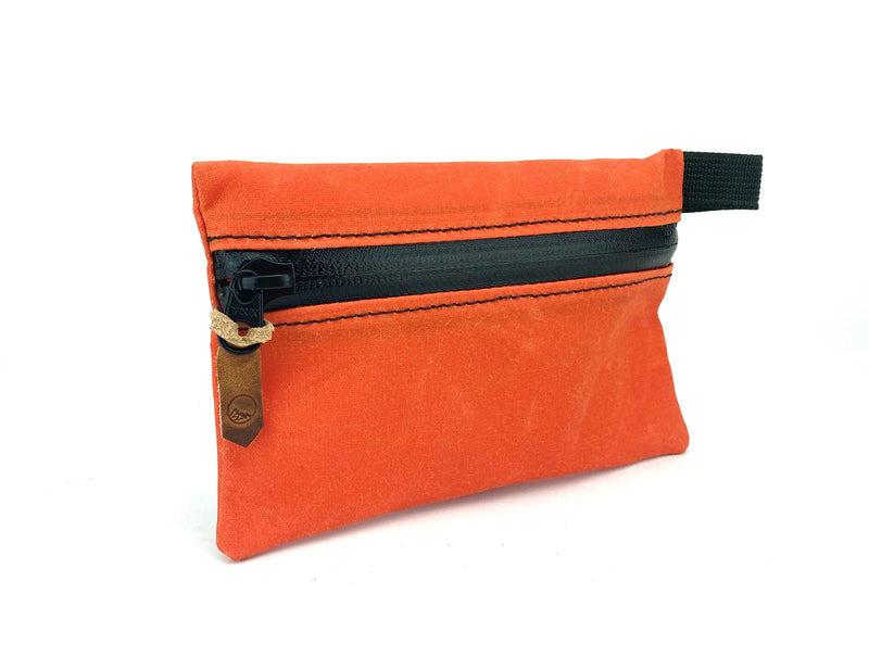 Waxed Canvas Accessory Bag