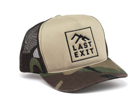Badge Camo Trucker