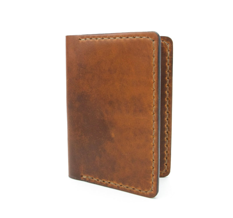 Rio Grande Passport Wallet: Dublin Tan