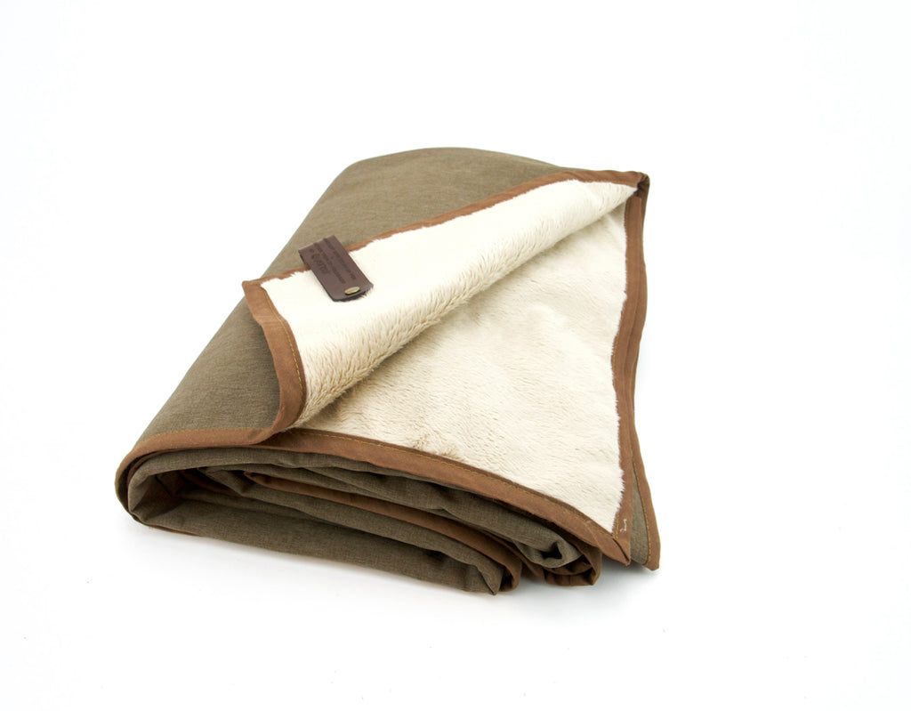 Adventure Blanket - Heather Tan