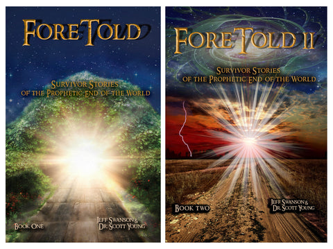 Foretold 1 & 2 (Complete Series) Survivor Stories of the Prophetic End of the World