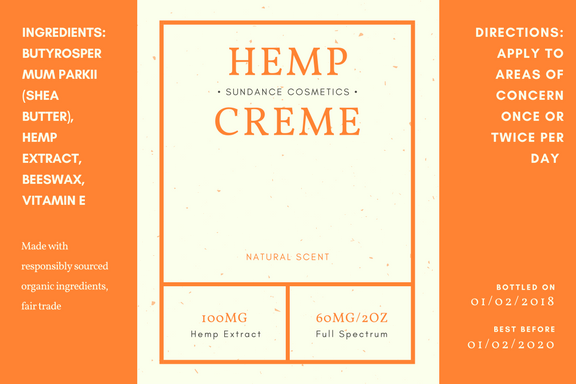 Common Uses for our Hemp Creme
