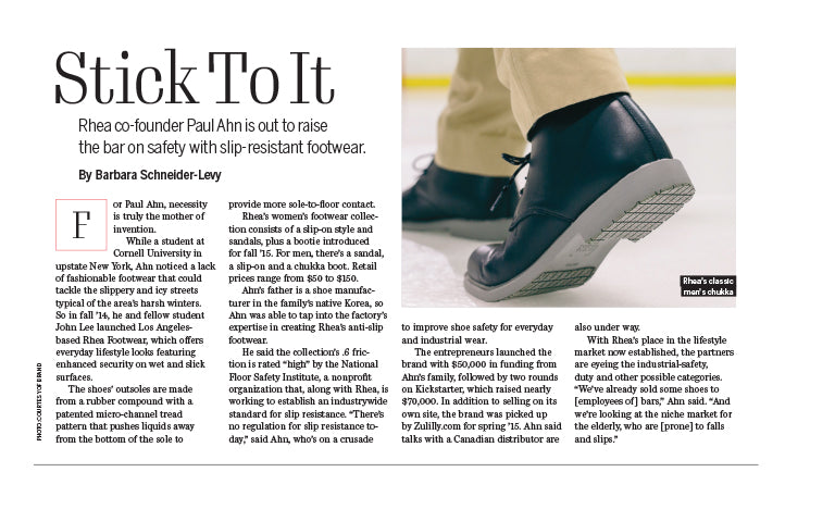 Footwear News October Issue Rhea Footwear