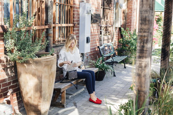 The Simplicity Blog Rhea Footwear Red Flats