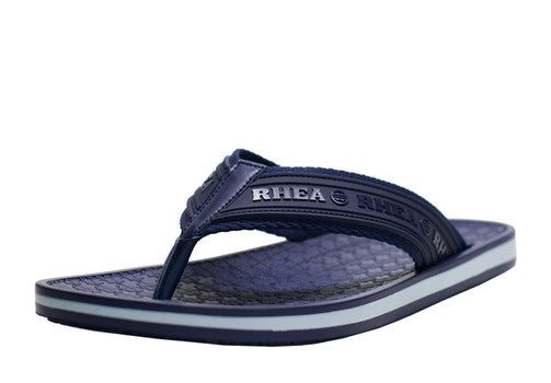 navy blue rhea footwear sandals flipflops summer men slip resistant