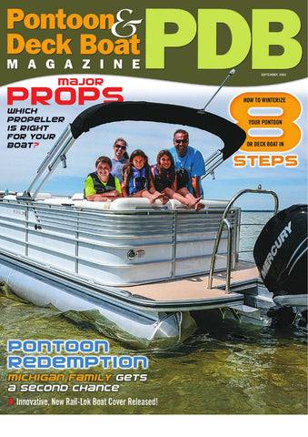 pontoon deck boat magazine cover