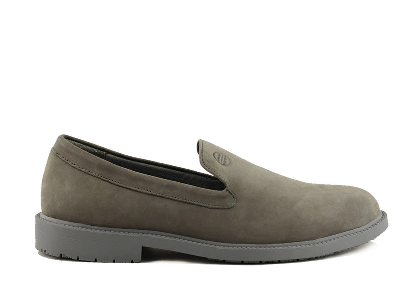 MEN'S GRAY SLIPONS