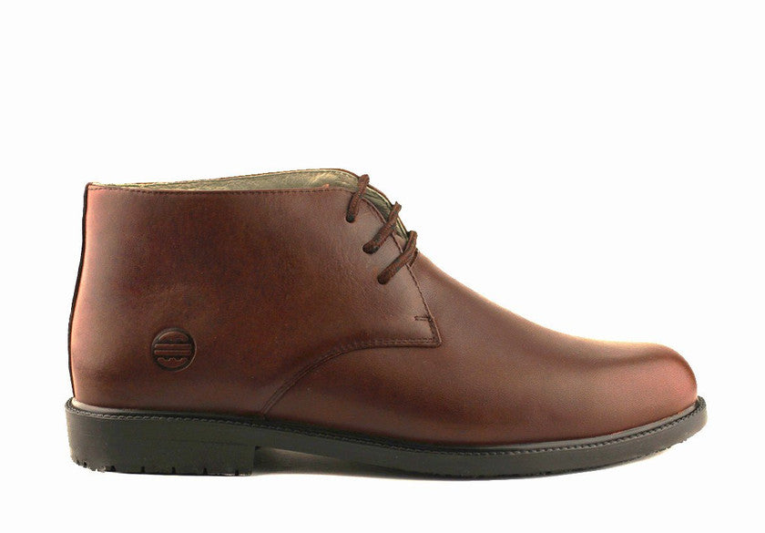 MEN'S BROWN CHUKKA BOOTS