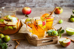 Fall Sangria Recipe with Autumn Spice Balsamic