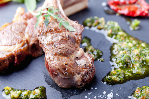 Lamb Chops with Chimichurri