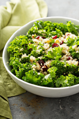 Kale and Quinoa Salad with Autumn Vinaigrette