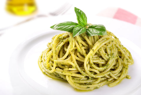 Basil Pesto Recipe by New Canaan Olive Oil