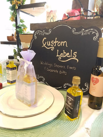 Edible Wedding Favors by New Canaan Olive Oil in CT