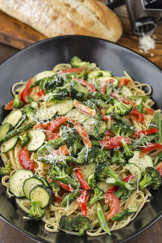 Grilled Veggie Pasta Salad Recipe