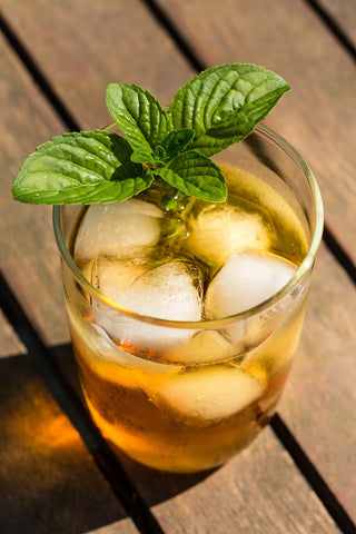 Lemongrass Mint Vanilla Iced Tea