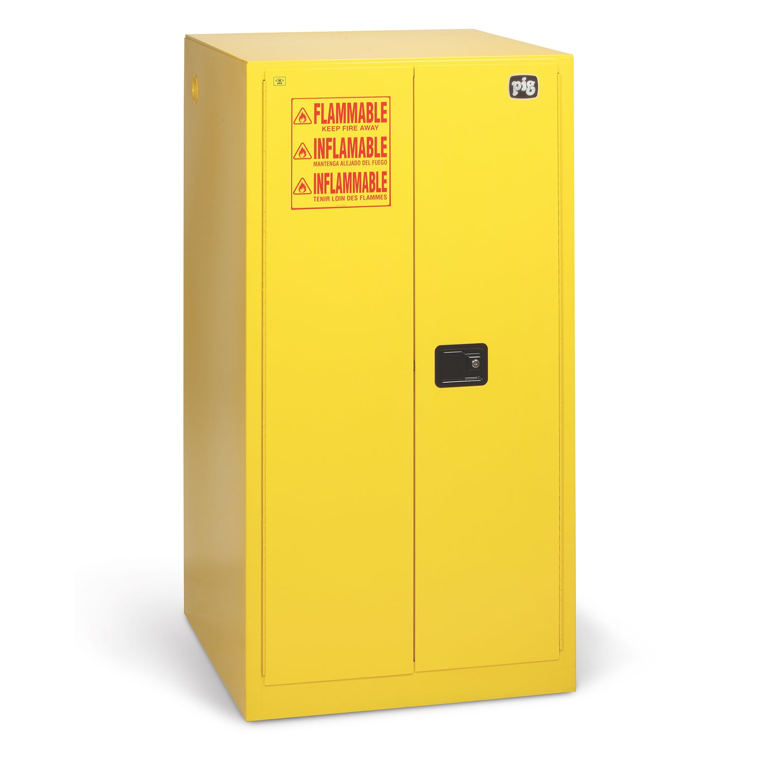 Image of: Pig Flammable Liquid Storage Cabinet Cabk721 New Pig India