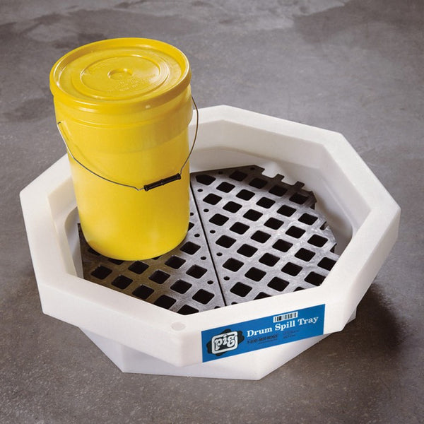 PIG® Drum Spill Tray with Grate - DRM371