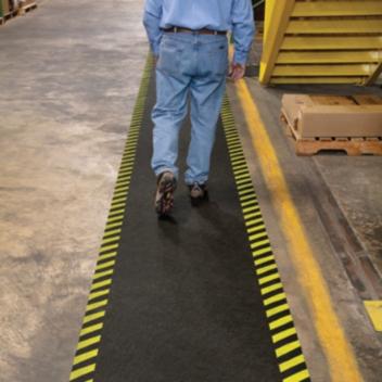 PIG® High-Visibility Safety Floor Runner -  GRPSB36200