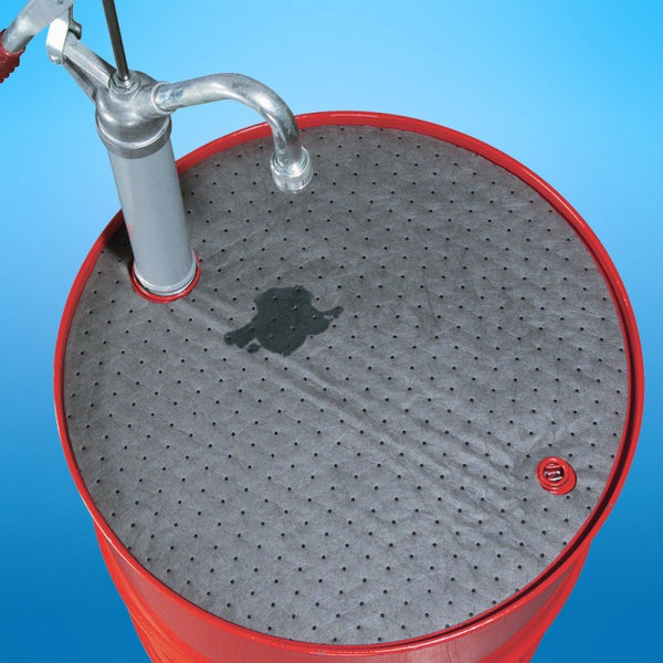 PIG® Barrel Top Absorbent Mat - MAT208