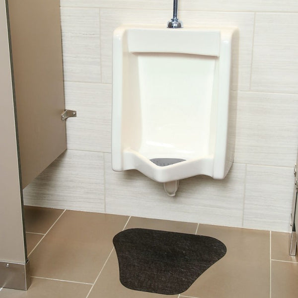 PIG® Urinal Mat with Adhesive Grippy® Backing - GRP7601