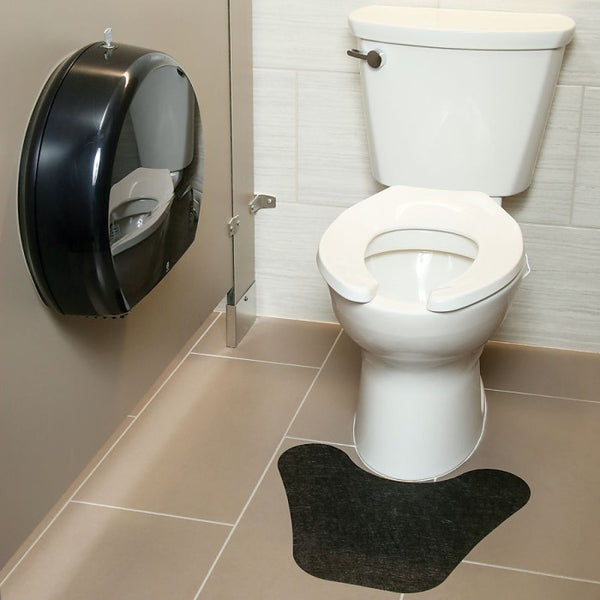 PIG® Toilet Mat with Adhesive Backing - GRP7603