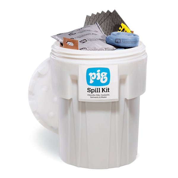 PIG® Spill Kit in a 360L Overpack Salvage Drum - KIT202