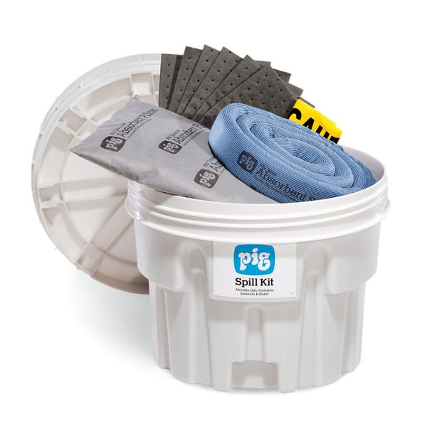 PIG® Spill Kit in a 76L Overpack Salvage Drum - KIT211