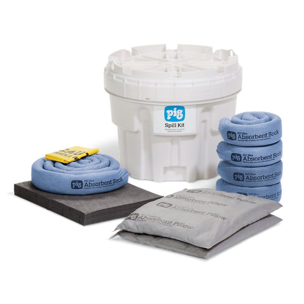 PIG® Spill Kit in 76-Liter Overpack Salvage Drum - KIT211